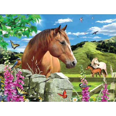 Puzzle  Sunsout-54926 XXL Pieces - Summer Meadow