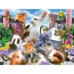 Puzzle  Sunsout-54928 XXL Pieces - Howard Robinson - Backyard Friends