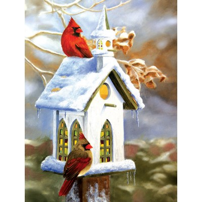 Puzzle  Sunsout-54990 XXL Pieces - The Church