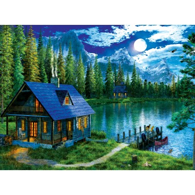 Puzzle  Sunsout-55051 XXL Pieces - Waiting for Master