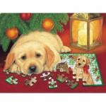 Sunsout-59406 XXL Pieces - A Puzzle for Christmas