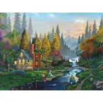 Puzzle  Sunsout-60429 Weekend Getaway