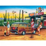 Puzzle  Sunsout-60824 XXL Pieces - Are We There Yet?