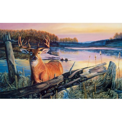 Puzzle  Sunsout-60841 XXL Pieces - By Dawn's Early Light