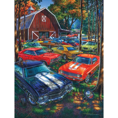 Puzzle  Sunsout-61765 XXL Pieces - There's Always Room for One More