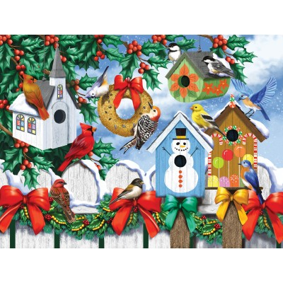 Puzzle  Sunsout-63036 XXL Pieces - Winter Backyard