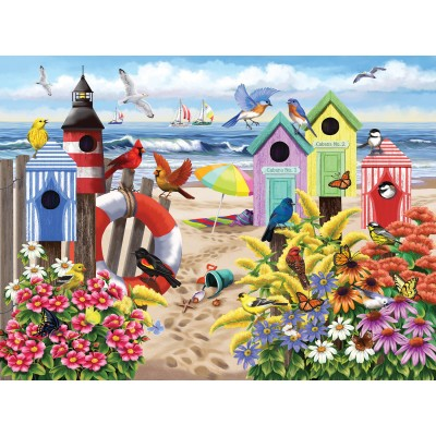 Puzzle  Sunsout-63077 XXL Pieces - Nancy Wernersbach - At Home by the Sea