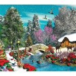 Puzzle  Sunsout-66574 XXL Pieces - Season's Beauty
