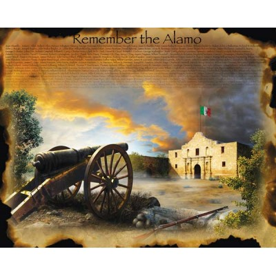 Puzzle  Sunsout-67952 XXL Pieces - Jim Todd - Remember the Alamo
