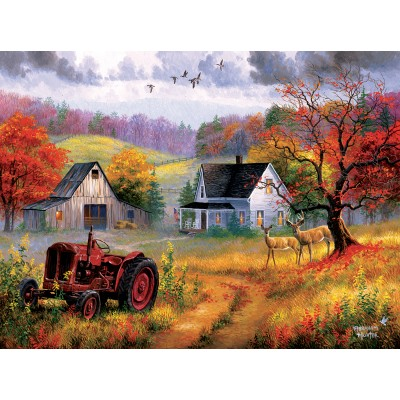 Puzzle  Sunsout-69626 Abraham Hunter - Heartland Home
