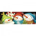 Puzzle  Sunsout-70136 XXL Pieces - Merry Folks Greeting You