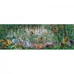 Puzzle  Sunsout-71610 XXL Pieces - Adrian Chesterman - African Mural