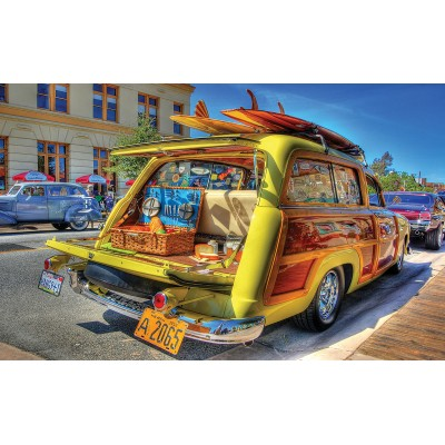Puzzle  Sunsout-72806 XXL Pieces - Woody Wagon