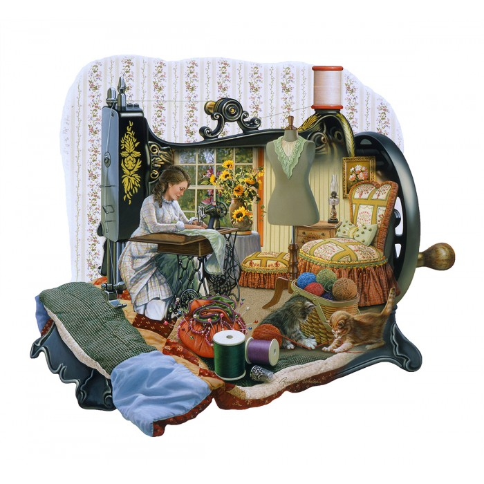 Puzzle Sunsout-95072 Russell Cobane - Sewing Memories