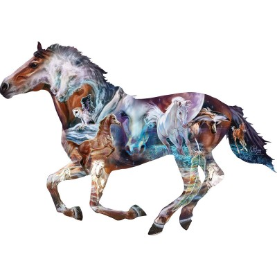 Puzzle  Sunsout-95973 Pièces XXL - The Mystery of the Horse