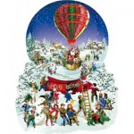 Puzzle  Sunsout-96087 XXL Pieces - Barbara Behr - Old Fashioned Snow Globe
