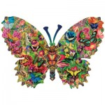 Puzzle  Sunsout-96127 Aimee Stewart - Butterfly Menagerie