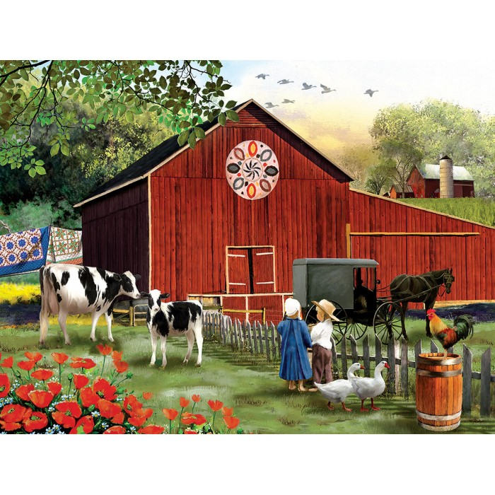 Puzzle Sunsout-28648 XXL Pieces - Country Serenity