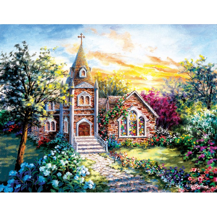Puzzle Sunsout-19290 XXL Pieces - Nicky Boehme - A Tranquil Setting